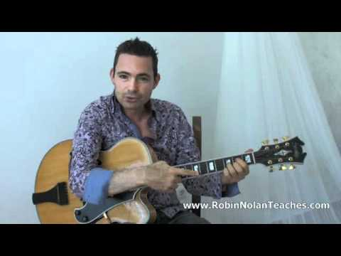 Making a Chord Sound Spanish - Learn Gypsy Jazz Guitar Lesson