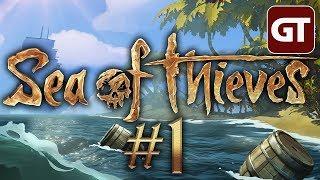 Sea of Thieves - Gameplay #1 - Let's Play Together Deutsch/German