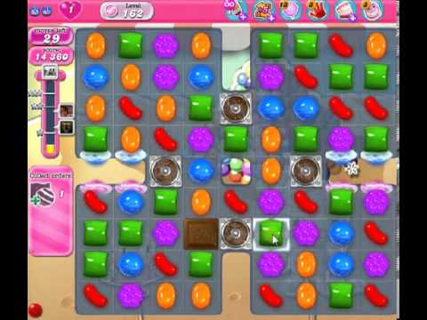 How to beat Candy Crush Saga Level 162 - 2 Stars - No Boosters - 79,863pts