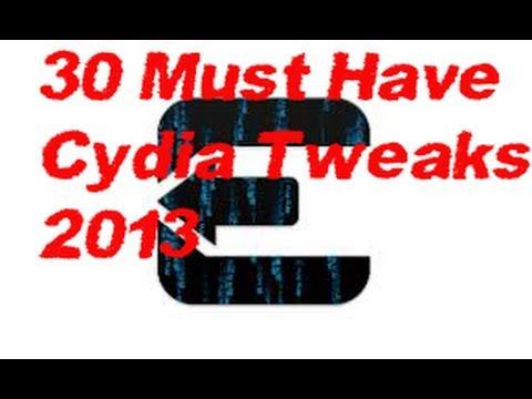 TOP 30 BEST[ MUST HAVE] CYDIA TWEAKS IOS 6 EVASION JAILBREAK