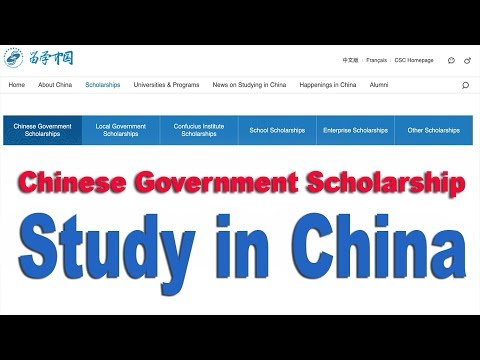 Scholarship in China A to Z guidelines - Bangla