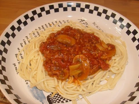 Vegetarian Spaghetti Bolognese Which Makes Stuffed Peppers and Lasagne