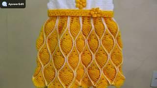Vestidinho Infantil De Crochê Vera Para 2 Anos