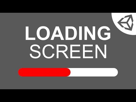 Unity 5: Loading Screen/Bar