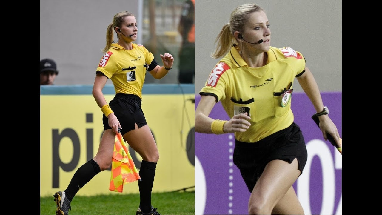 Hottest Female Football Referees   Bara Bere   Funny moments