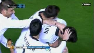Gol Albelda - Osasuna 0 - 3 Valencia