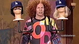 CARROT TOP BRINGS the PROPS on 'LENO'