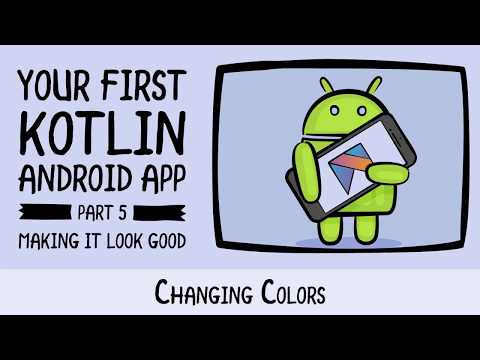 App Colors - Beginning Android Development - Your First Kotlin Android App