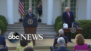 Trump unveils five-minute COVID-19 test
