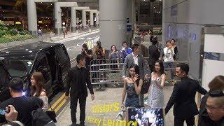 Clc (씨엘씨) Arrived Hong Kong Airport 20180719 (another Focus)