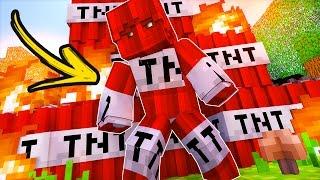 DISFARCE TROLL DE TNT !! - ( DESAFIO DO DISFARCE TROLL MINECRAFT )