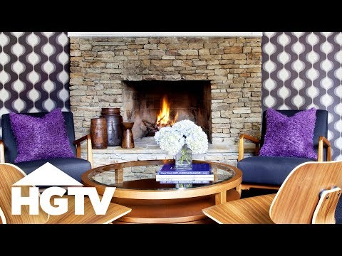 How to Cover Your Walls With Fabric - HGTV