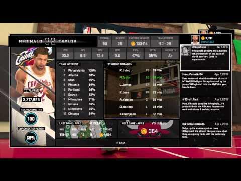 NBA 2K15 My Career Beta Dog And Flashy Passer Badges