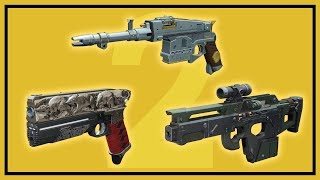 Destiny 2: How to Get the Exotic Weapons Rat King, Sturm and MIDA Multi-Tool