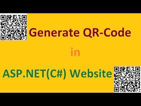 How to generate QR Code in ASP.NET (C#) Website?