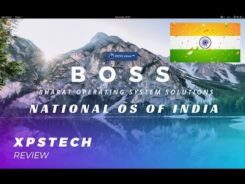 REVIEW : BOSS LINUX 6.2 : THE NATIONAL OS OF INDIA!!