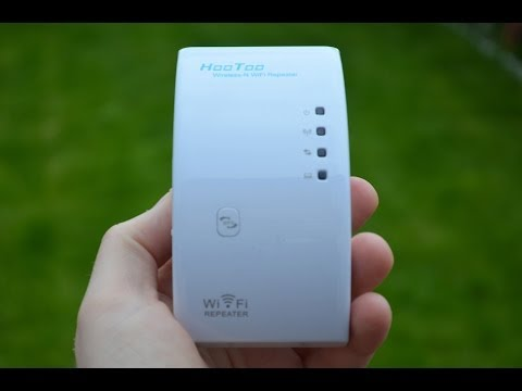 HooToo WiFi Repeater review/setup video