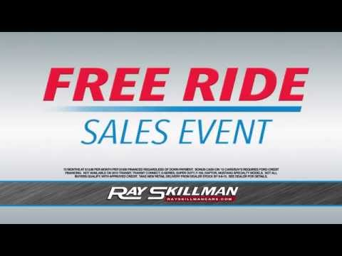 Ray Skillman Hoosier Ford - Free Ride Sales Event
