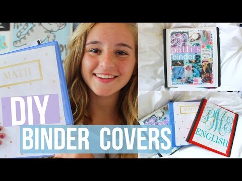 DIY Binder Covers