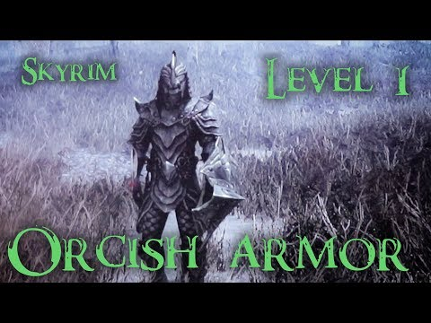 How to get Orcish Armor fast and easy at level 1 in TES V: Skyrim  (Nederlandse ondertiteling)