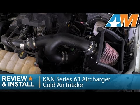 2015-2017 F-150 K&N Series 63 Aircharger Cold Air Intake (2.7L EcoBoost) Review & Install
