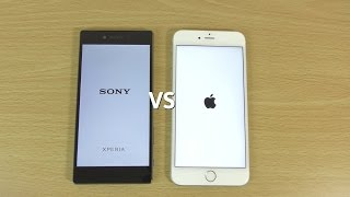 Sony Xperia Z5 Premium VS IPhone 6S Plus - Speed & Camera Test!