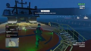 (extra clip) Taking Over a Yacht - GTA 5 Online