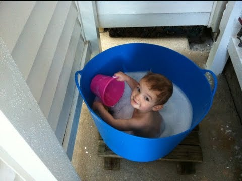 TubTrugs | How to Give Your Baby a Bath in a Shower Stall