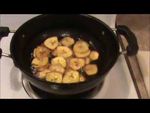 Quick Banana Chips
