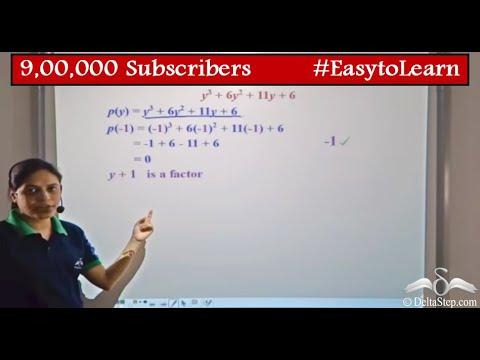 Factorise Cubic Polynomial