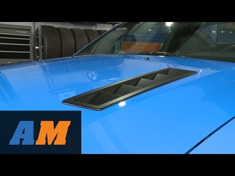 Mustang MMD Hood Vent Louvers - Pre-painted and Matte Black (05-09 GT, V6) Review