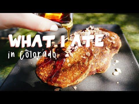 WHAT I ATE IN COLORADO//vegan