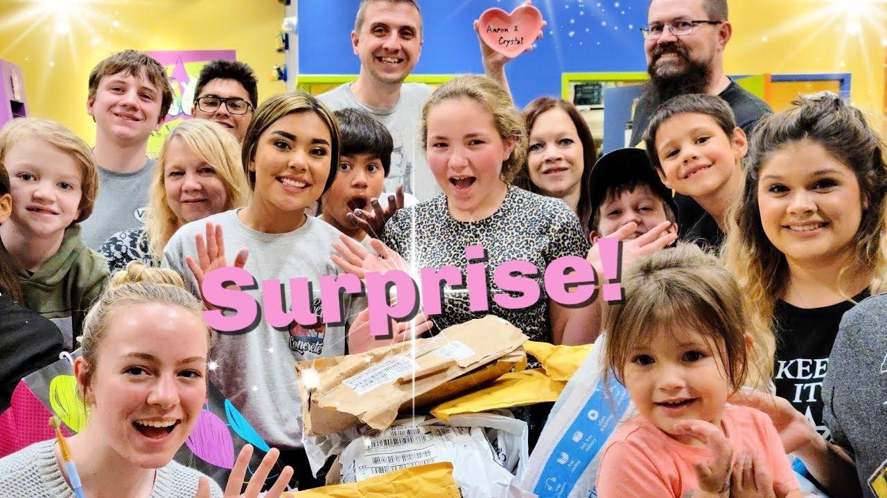 SURPRISE Birthday Party for Savannah! | Birthday Special | Adoption