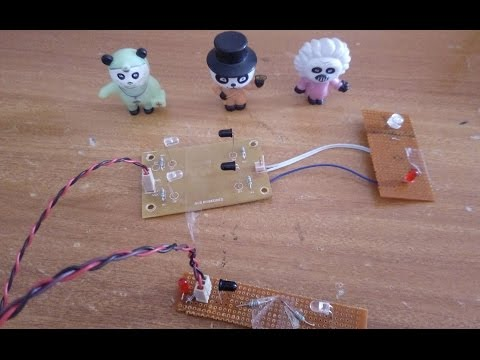 How to make an infrared Entry & Exit motion detector - IR Based Projects