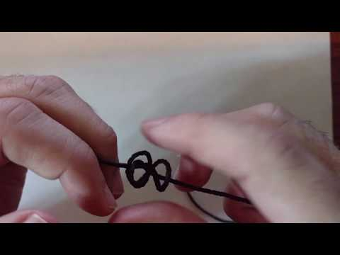 Tying Barrel Knot Beads