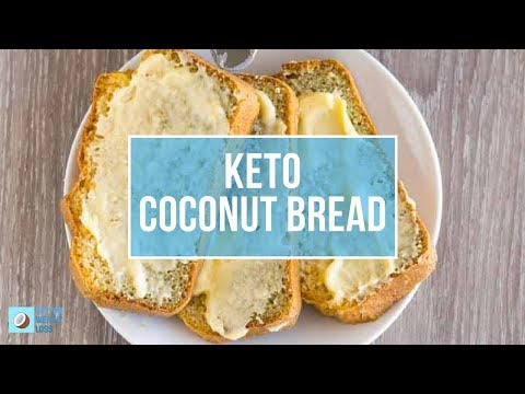 How To Make Keto Coconut Flour Bread - FatForWeightLoss How To Recipe Video