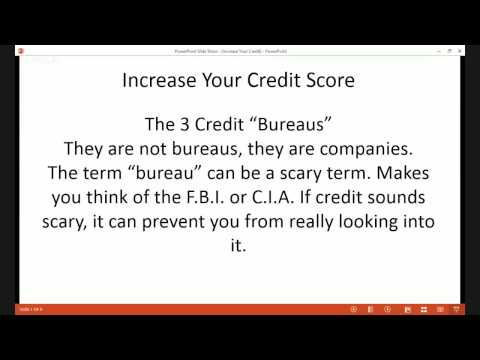 Increase Your Credit Score 180 points and buying power in 45 days