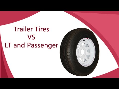 Why Can't I Use Car Tires on My Trailer?