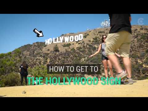Forget Google Maps, Here's The Best Way To Get The Best View Of The Hollywood Sign