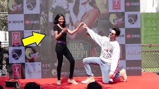 Kartik Aryan Propose Young College Girl AT Film Lukka Chuppi Song Launch