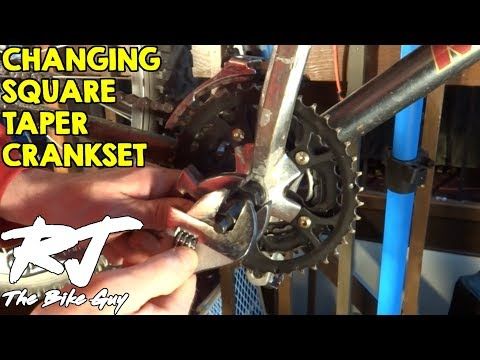 Changing A Square Taper Crank Set