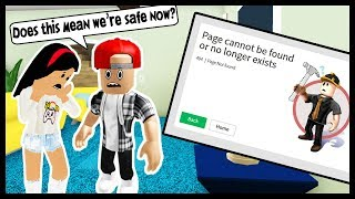 MY STALKER GOT BANNED FOR HACKING! - Roblox