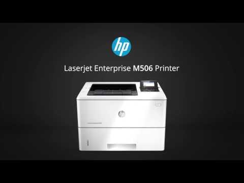 HP LaserJet M506dh Printer