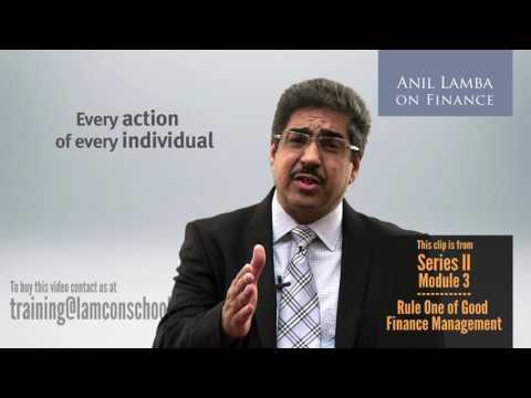 Anil Lamba's Golden Rules of Good Finance Management - Rule 1: Managing Profitability