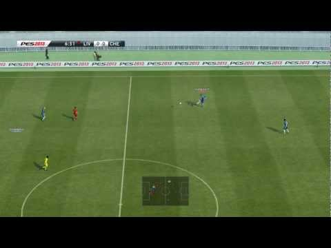 PES 2013 - Score easy goals from your own half