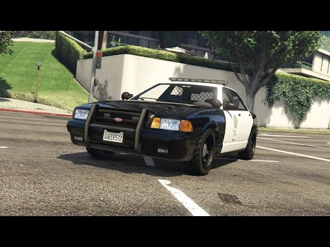 How to Install Amber Parking Lights and Clear Lightbar on GTA 5 Police Cruiser