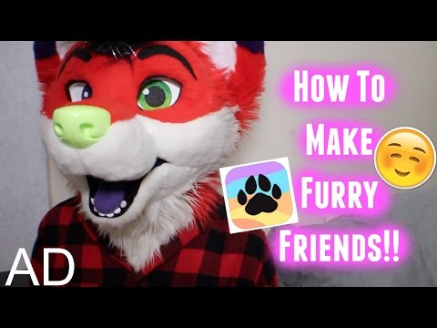 How To Make Furry Friends Online!!