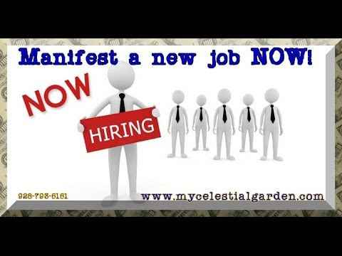 Manifest the perfect job quickly