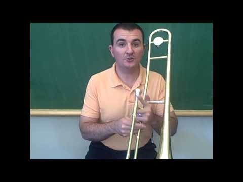 Trombone - Playing The First Five Notes