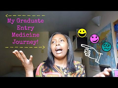 MY GRADUATE ENTRY MEDICINE JOURNEY! :D